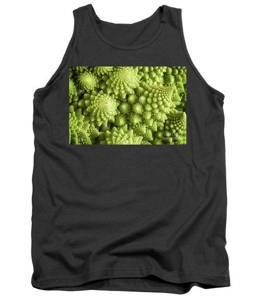 Romanesco Broccoli Vegetable Close Up Tank Top