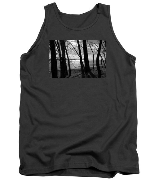 Tank Top featuring the photograph Romantic Lake by Valentino Visentini