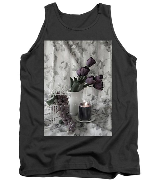 Tank Top featuring the photograph Romantic Thoughts by Sherry Hallemeier