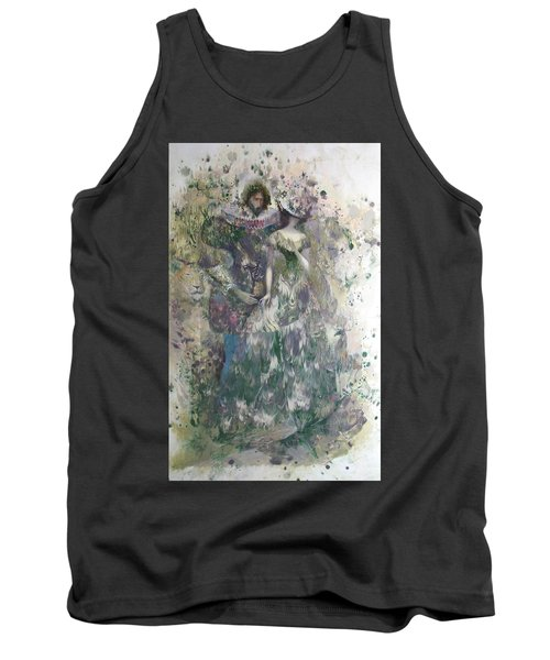 Romeo And Juliet. Monotype Tank Top