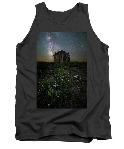 Tank Top featuring the photograph Room With A View by Aaron J Groen