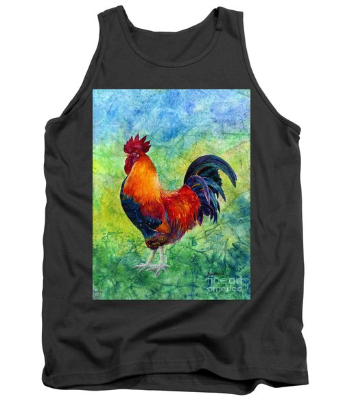 Tank Top featuring the painting Rooster 2 by Hailey E Herrera