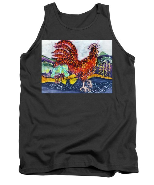 Rooster In The Morning Tank Top
