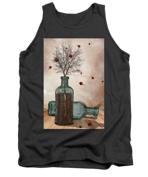 Rooted Tank Top by Mihaela Pater