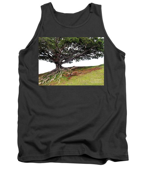 Tank Top featuring the photograph Roots Of Honolulu by Gina Savage