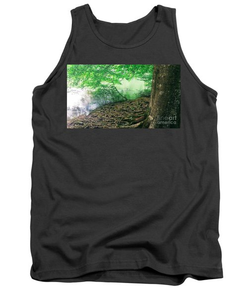 Roots On The River Tank Top by Rachel Hannah