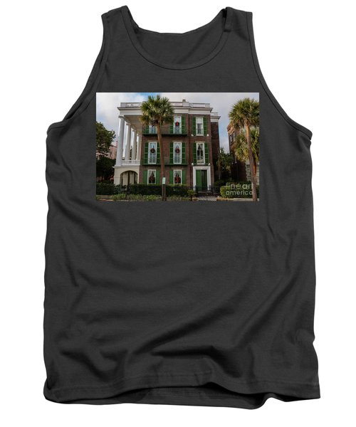Roper Mansion In December Tank Top