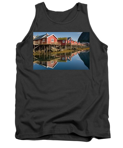 Rorbus With Reflections Tank Top by Aivar Mikko