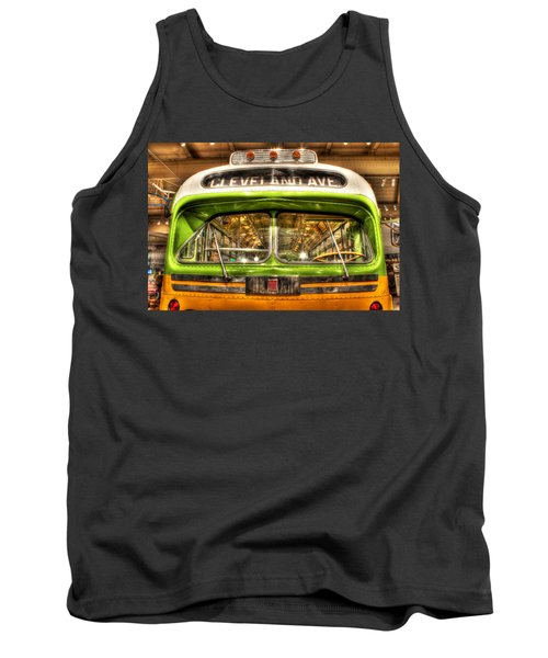 Rosa Parks Bus Dearborn Mi Tank Top by Nicholas  Grunas