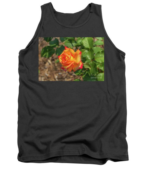 Tank Top featuring the photograph Rosa Peace by Jim Lepard