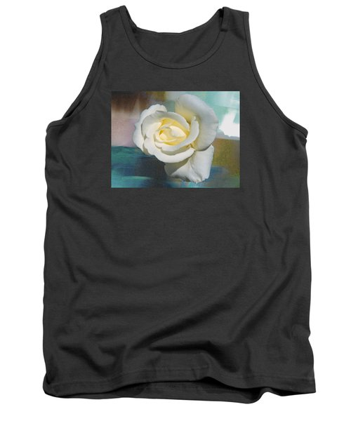 Rose And Lights Tank Top by Helen Haw