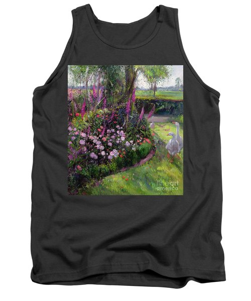 Rose Bed And Geese Tank Top