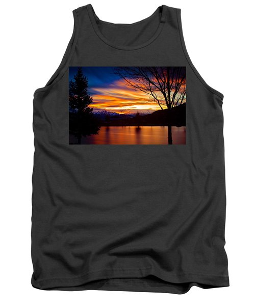 Rose Canyon Dawning Tank Top by Paul Marto