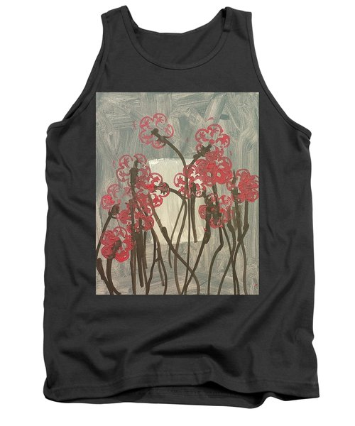 Rose Field Tank Top by Artists With Autism Inc