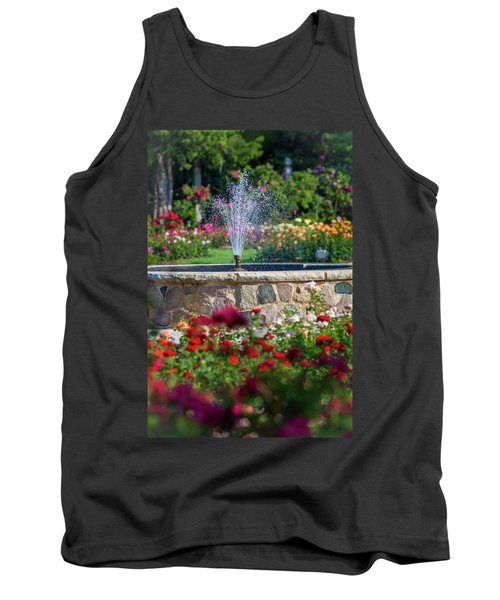 Rose Fountain Tank Top