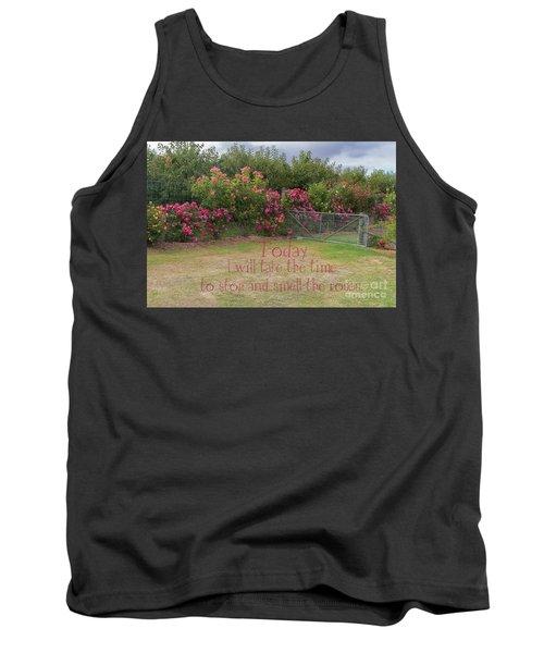 Rose Garden Tank Top by Elaine Teague