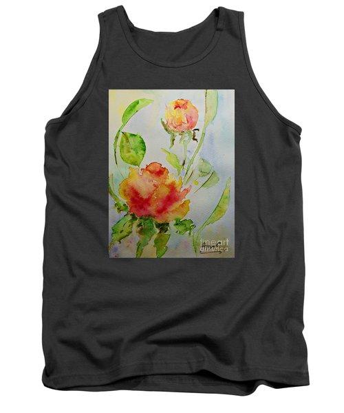 Roses  Tank Top by AmaS Art