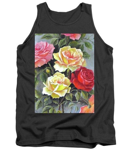 Roses Tank Top by Katia Aho
