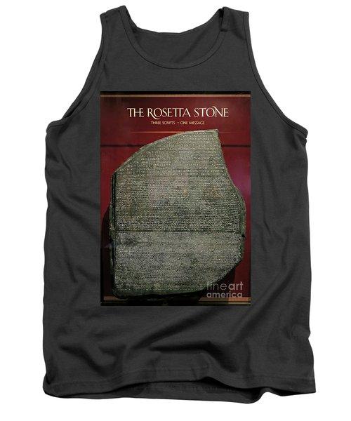 Rosetta Stone Replica Tank Top