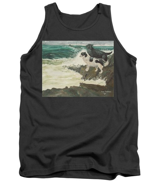 Tank Top featuring the painting Roughsea by Terry Frederick