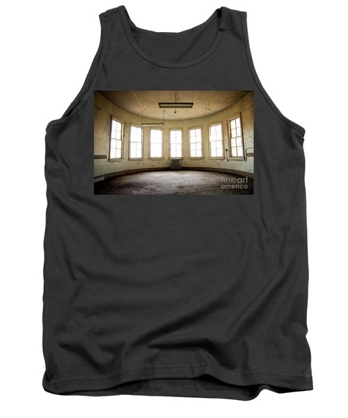 Tank Top featuring the photograph Round Room by Randall Cogle