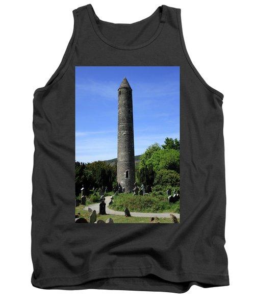 Round Tower At Glendalough Tank Top