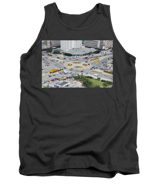 Roundabout In Warsaw Tank Top by Chevy Fleet