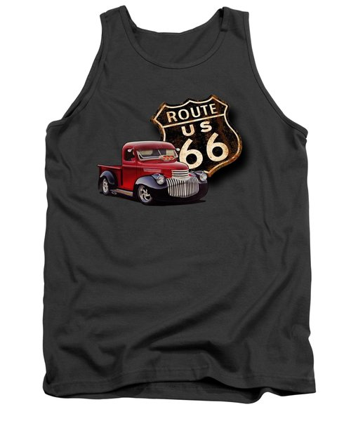 Route 66 Pickup Tank Top