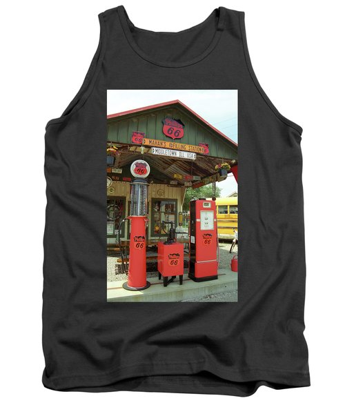 Route 66 - Shea's Gas Station Tank Top