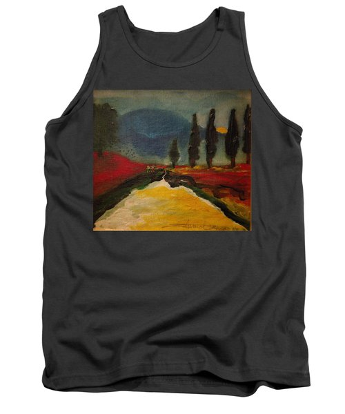 Row Of Cypress Tank Top