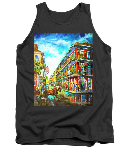 Royal Carriage - New Orleans French Quarter Tank Top