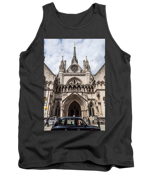 Royal Courts Of Justice In London Tank Top
