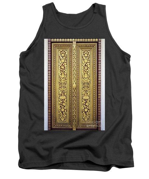 Royal Palace Gilded Doors Tank Top