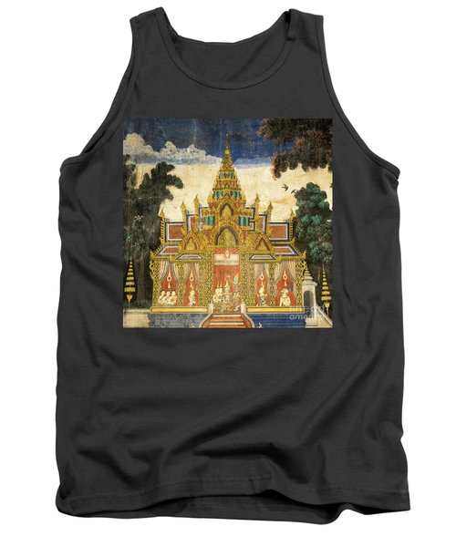 Royal Palace Ramayana 17 Tank Top