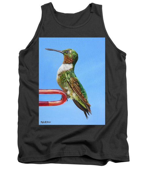 Ruby Throat Hummingbird  Tank Top