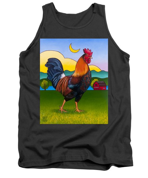 Rufus The Rooster Tank Top