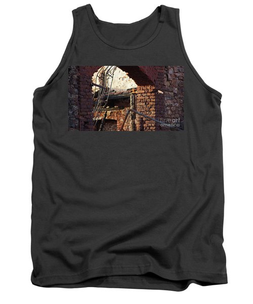 Ruin After Big Fire  Tank Top
