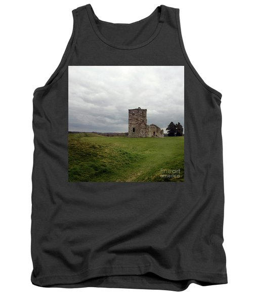 Tank Top featuring the photograph Ruin by Sebastian Mathews Szewczyk