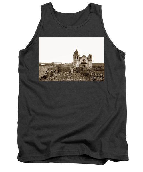 Ruins Of Carmel Mission, Monterey, Cal. Circa 1882 Tank Top