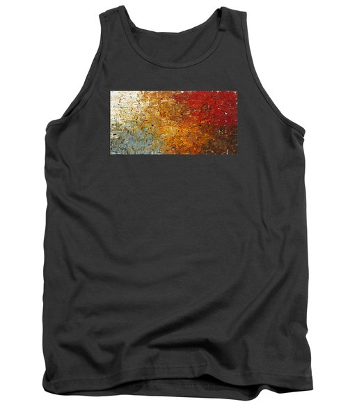 Tank Top featuring the painting Running Free - Abstract Art by Carmen Guedez