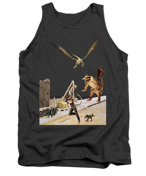 Running From My Problems Tank Top by Methune Hively