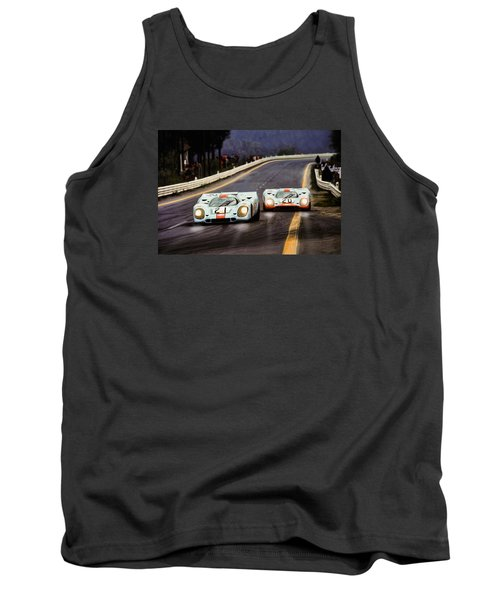 Running One Two Tank Top by Peter Chilelli