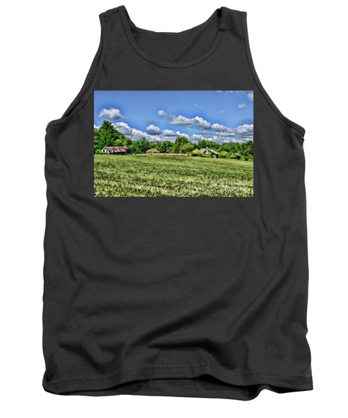 Tank Top featuring the photograph Rural Virginia by Paul Ward
