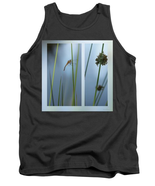 Rushes And Dragonfly Tank Top