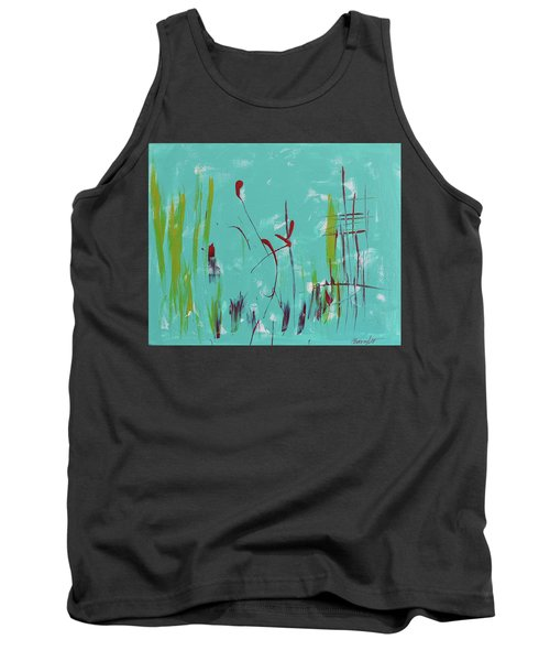 Rushes And Reeds Tank Top