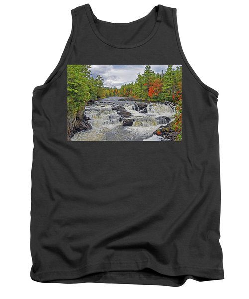Tank Top featuring the photograph Rushing Towards Fall by Glenn Gordon