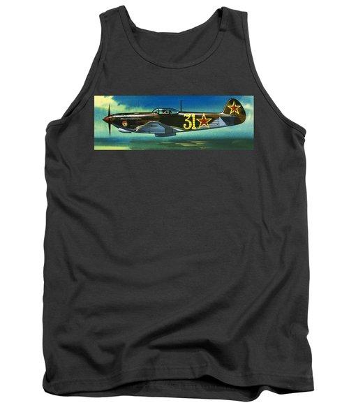 Russian Yakolev Fighter Tank Top