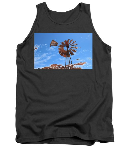 Tank Top featuring the photograph Rust Age by Stephen Mitchell