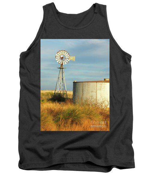 Rust Find Its Place Tank Top