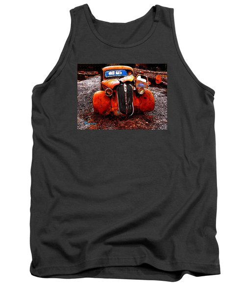 Tank Top featuring the photograph Rust In Peace by Sadie Reneau